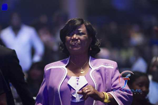 Mrs. Okoye at Psquare Invasion concert in August 2011.