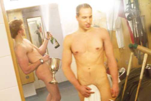 Harry isn't a stranger to nude photo scandals. Here's one of he and Prince William from back when