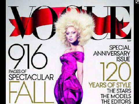 Gaga Covers Vogue September Issue