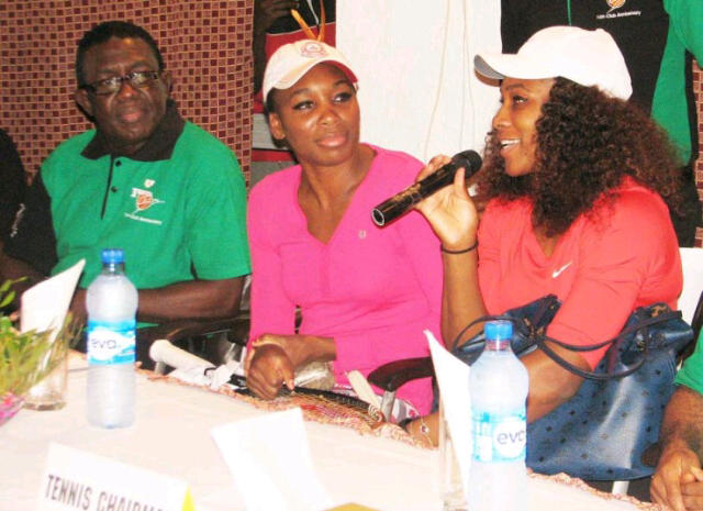 Williams sisters' courtesy visit to Ikoyi club