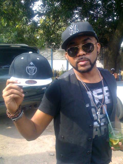 Banky W sampling an Xray hat
